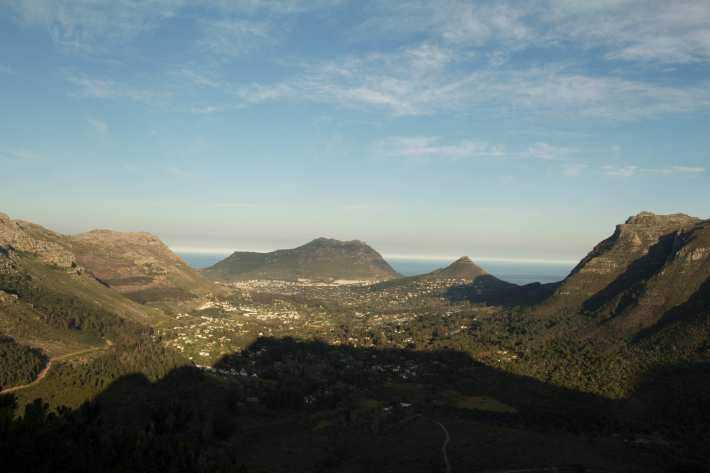 View into Houtbay