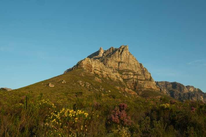 View up Kloof Corner Ridge