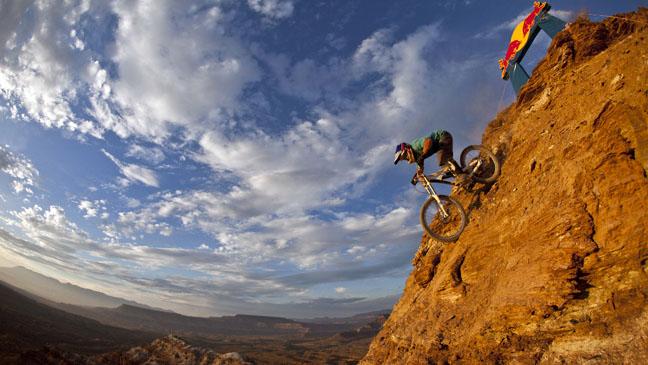 Rider: Michael Marosi Description: Red Bull Rampage 2010